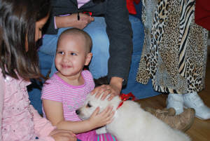 Bella in Texas for Make a WIsh
